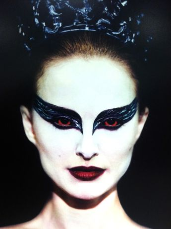 Black Swan...this would make a terrifying costume!