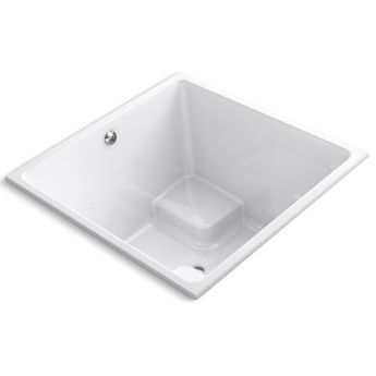 "Underscore 48"" x 48"" Soaking Bathtub"