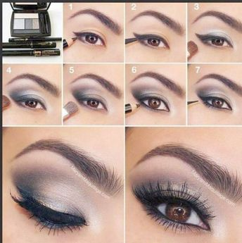 Smokey Eye Make Up Step By Step; Makeup Bag Jeffree Star beyond Smokey Eye Tutorial Easy her Jennifer Lopez Smokey Eye Look its Makeup Vanity Drawers