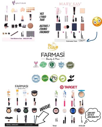 I used to spend 𝕒𝕝𝕠𝕥 on skincare and makeup each month. EACH MONTH! Yes, you heard that right...  🤜🏻Then I found Farmasi. European standards (bans 1300+ ingredients vs FDA banning a measly 9) low cost, high quality.  I get everything at 50% off. All I had to do was pay 19.99 once. 💕But not me. Nor my team. Nor my customers. Every one of my team and customers are blown away. And reordering.  ?What's stopping you? #farmasi #farmasimakeup #Farmasiapril