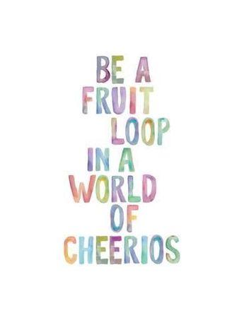 Be A Fruit LoopBy Brett Wilson