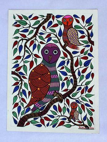Gond art by rural artist Himanshu