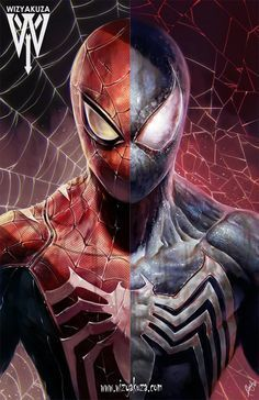 Spider / Symbiote Split