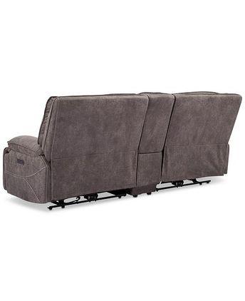 Wondrous Felyx 116 3 Pc Fabric Sectional Sofa With 2 Power Reclin Machost Co Dining Chair Design Ideas Machostcouk