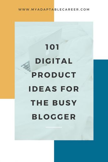 Make passive income from your blog or online business by selling a digital product. This list of 101 digital product ideas will help you get started with your first ebook, online course or other digital product. #bloggingtipsandtricks #bloggingformoney