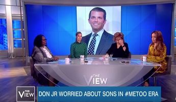 Donald Trump Jr. rips Whoopi Goldberg's 'rape-rape' Polanski defense after #MeToo rant invokes sons