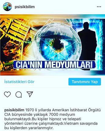 Türkiye Parapsikoloji (@psisikbilim) • Instagram fotoğrafları ve videoları