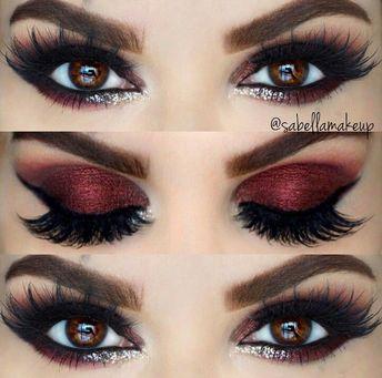 Beautiful eyes make up - #Eye #schminken # Beautiful