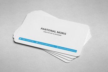 Minimal Medical Business Card Design - Graphic Templates