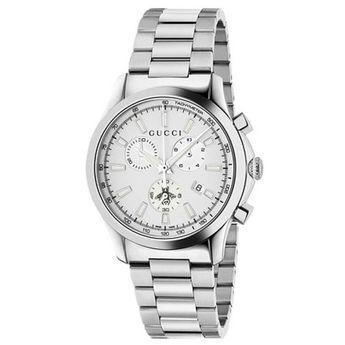 77fd59376fe Unisex Gucci Watch G-Timeless Medium YA126472 Quartz Chronograph... for  sale online