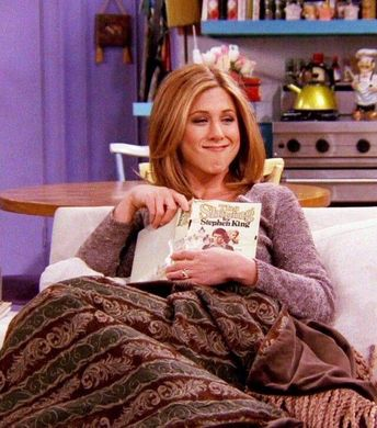 The Secret Bookish Life of FRIENDS' Rachel Green