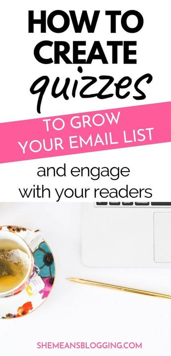 Ever thought of creating a quiz as a lead magnet and grow your email list? Why not! This post is all about using interactive quizzes to grow an email list and connect with an engaged audience. Ready to collect new email subscribers? Make quizzes. #emailmarketing #marketingtips #bloggingtips #blogtips #businesstips