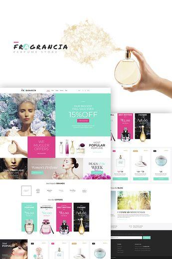 Fragrancia Perfume Store WooCommerce Theme #68157