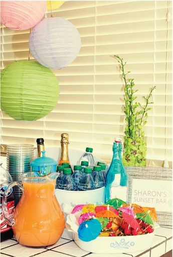 bridal shower hawaiian theme simple hawaiian themed bridal shower kellys shower ideas pintere