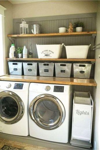 Laundry Nook Ideas We Love