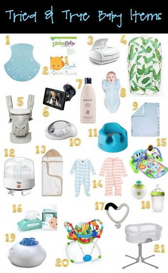 Emily Ann Gemma's baby items list