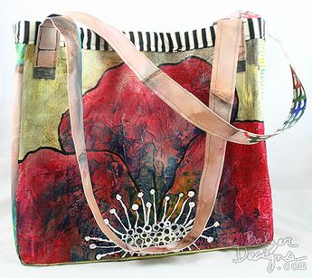 4 Paintings Become a Tote Bag