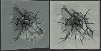ArtStation - Impact Crack, Mallory Wikoff