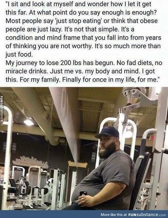 This man's journey has only just begun