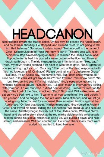 List of percy jackson head canon school nico image results