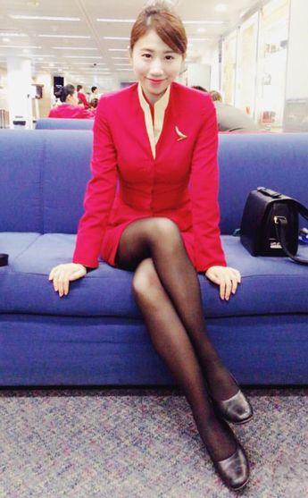 【Hong Kong】 Cathay Pacific Airways cabin crew / キャセイパシフィック航空 客室乗務員 【香港】