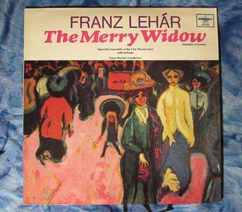 Franz Lehar The Merry Widow (Franz Werfel)(1978, Opera  LP Vinyl Record)$8