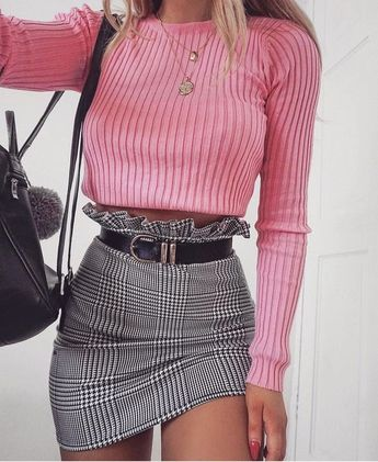 60+ Never Failed Chic Long Sleeve ang Mini Skirt Outfits Ideas