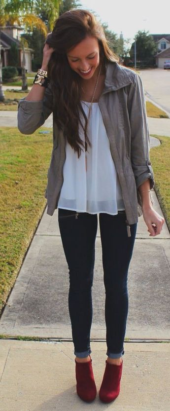 Stitch Fix stylist: I love the open top - to hide my tummy...and love the booties - I don't own any that are that short!