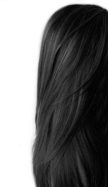 Elegant Long Black Hair Of Queens Women -2018/2019