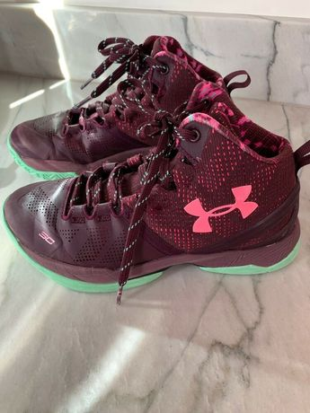 hot sale online fdfed 5fddc Under Armour Stephen Curry SC Boys Basketball Shoes - Size 3.5 Youth   fashion  clothing