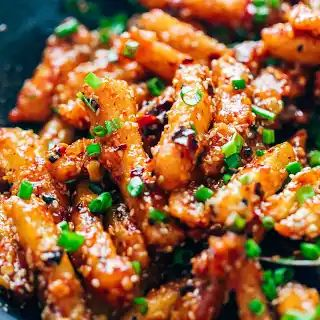 The Best Crispy Honey Chili Potatoes You Will Ever Have