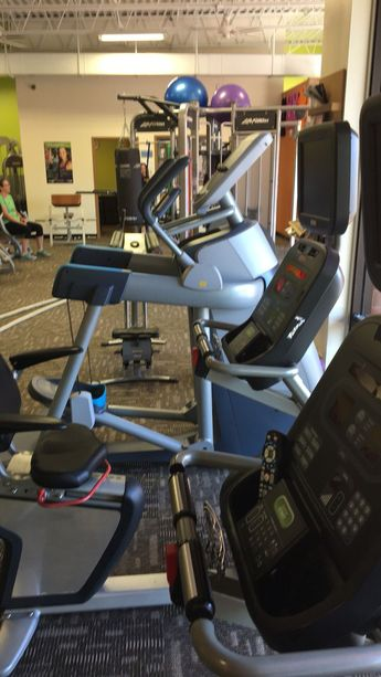 Anytime fitness (treadmill action)