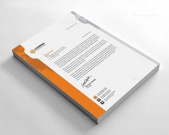 Corporate Letter Template - Graphic Templates