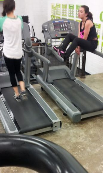 She is at the gym everyday and she just isn't seeing any improvement