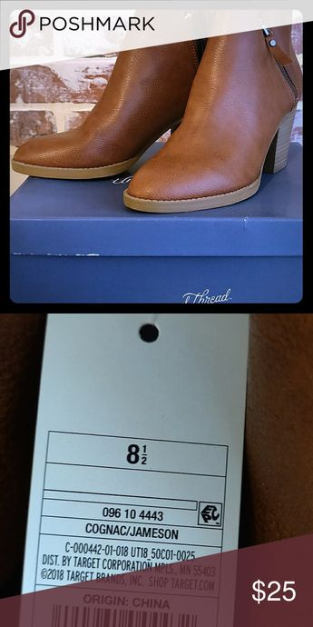Boots Brand new light brown, short boots. Never been worn. Shoes Ankle Boots & Booties