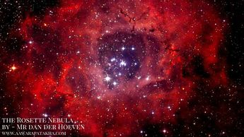 """Aged just 11, Mr dan der Hoeven built the equipment necessary for the photo with his father.  Together they captured images of the Rosette Nebula over three nights in November using- different filters. Judge Mr Robinson added: """"In a year that celebrates 50 years since the first lunar-  landings it is fitting that this year's overall winning image captures such a dynamic and-  captivating view of our Moon. """"A worthy winner indeed"""". P.S - to know more click on the image"""
