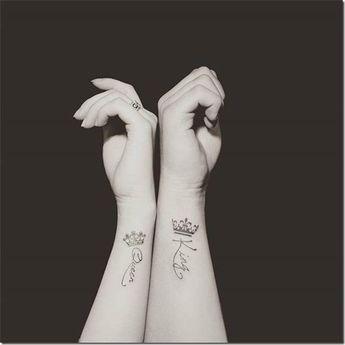 Beautiful and inspiring crown tattoos