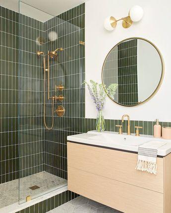 Banner Day Interiors: Brooklyn Bathroom | Fireclay Tile