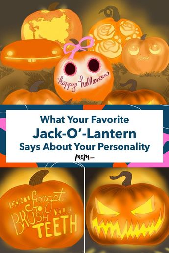 The Jack-O'-Lantern Your Eye Is Immediately Drawn To Speaks Volumes About Your Personality