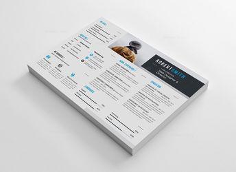 Thor Landscape Premium Resume Template 000918 - Template Catalog