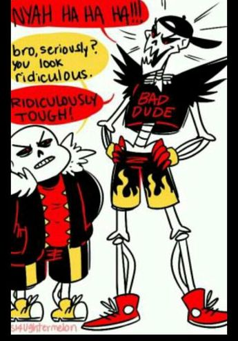underswap papyrus x reader Ideas and Images | Pikef