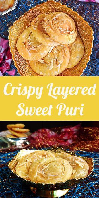 Chirote | Crispy Layered Sweet Puri