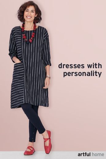 Showcase your distinctive personality with our diverse array of artist-designed dresses—effortless styles great for traveling, twirling, layering, or lounging.