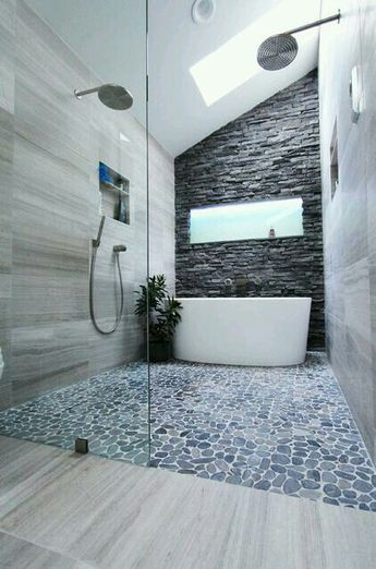 This floor, that wall, this bathroom yes please