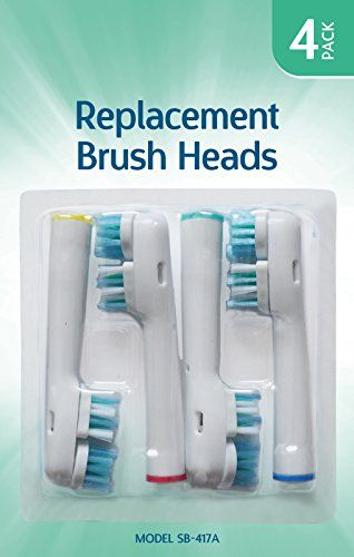 Smilex AU300D Ultrasonic Toothbrush Replacement Brush Head
