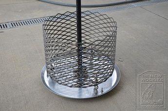 LavaLock® Fire Box Charcoal Wood Basket, 15 x 15 x 8 LASER
