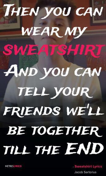Jacob Sartorius - Sweatshirt download on itunes ❤ @jacobxsartorius