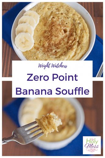 Weight Watchers Zero Point Banana Souffle