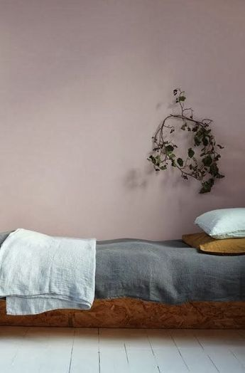 Pale bedroom