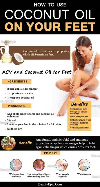 Coconut Oil for Feet - Why It's Good for Your Feet?